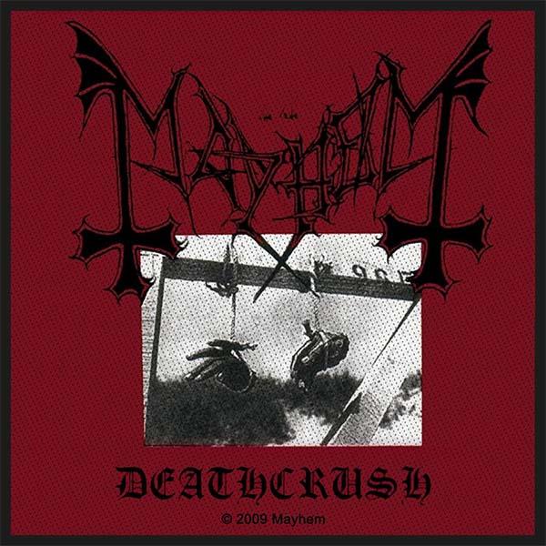Mayhem- Deathcrush Woven Patch (ep598) (Import)