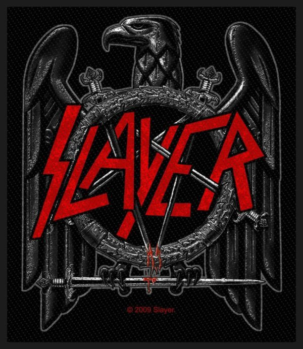 Slayer- Eagle woven patch (ep550)