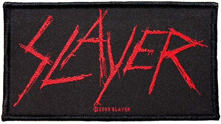 Slayer- Logo woven patch (ep572) (Import)