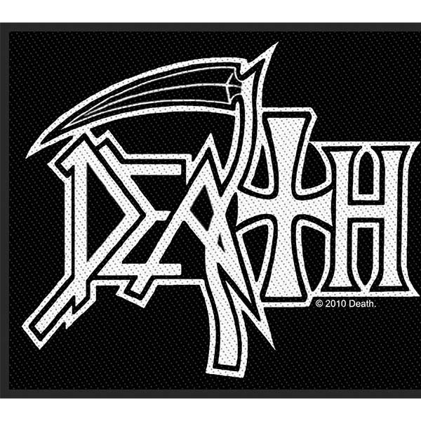 Death- Logo Woven Patch (ep539)