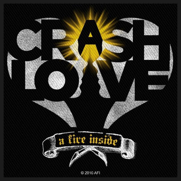 AFI- Crash Love Woven Patch (ep814) (Import)