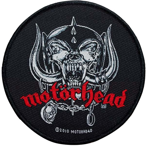 Motorhead- Snaggletooth Woven Patch (ep525)