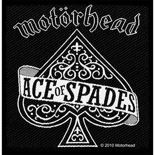 Motorhead- Ace Of Spades Woven Patch (ep533)