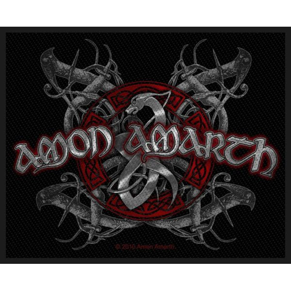 Amon Amarth- Viking Dog Woven Patch (ep829) (Import)