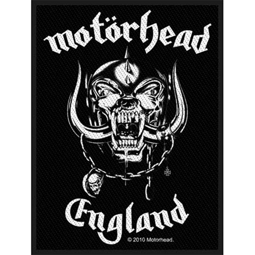 Motorhead- England Woven Patch (ep537)