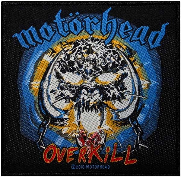 Motorhead- Overkill Woven Patch (ep522)