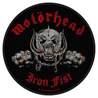 Motorhead- Iron Fist (Snaggletooth) Woven Patch (ep530)
