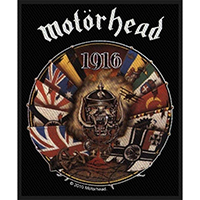 Motorhead- 1916 Woven Patch (ep561) (Import)