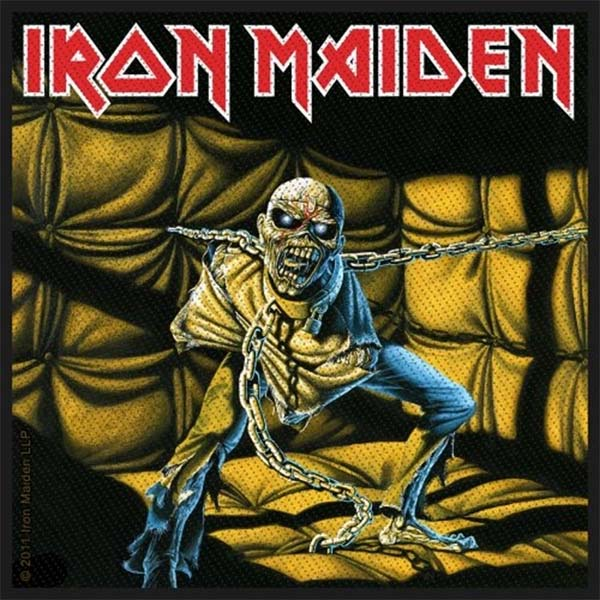 Iron Maiden- Piece Of Mind Woven Patch (ep646)
