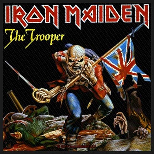 Iron Maiden- The Trooper Woven Patch (ep759) (Import)