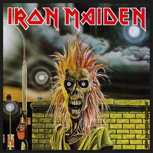 Iron Maiden- First Album Eddie Woven Patch (ep653)