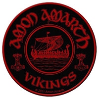 Amon Amarth- Vikings Woven Patch (ep499) (Import)