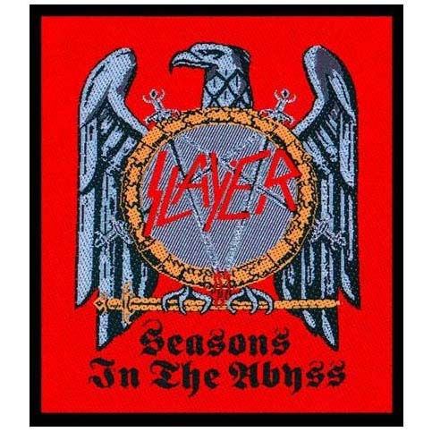 Slayer- Seasons In The Abyss woven patch (ep449)