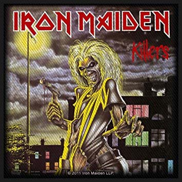 Iron Maiden- Killers Woven Patch (ep654)