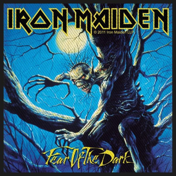Iron Maiden- Fear Of The Dark Woven Patch (ep845)