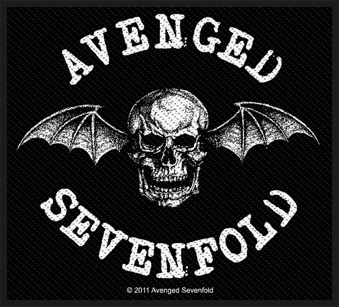 Avenged Sevenfold- Deathbat Woven Patch (ep447)