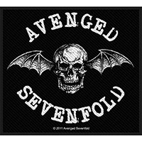 Avenged Sevenfold- Deathbat Woven Patch (ep132) (Import)