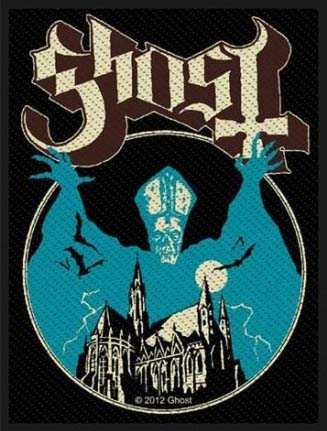 Ghost- Opus Eponymous Woven patch (ep779) (Import)