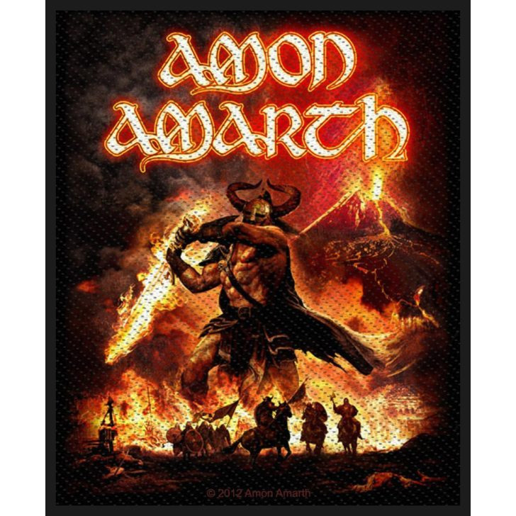 Amon Amarth- Surtur Rising Woven Patch (ep446) (Import)
