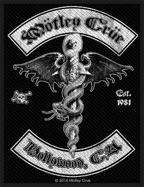 Motley Crue- Dr Feelgood Crest Woven Patch (ep763) (Import)