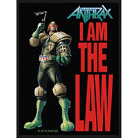 Anthrax- I Am The Law Woven Patch (ep49)
