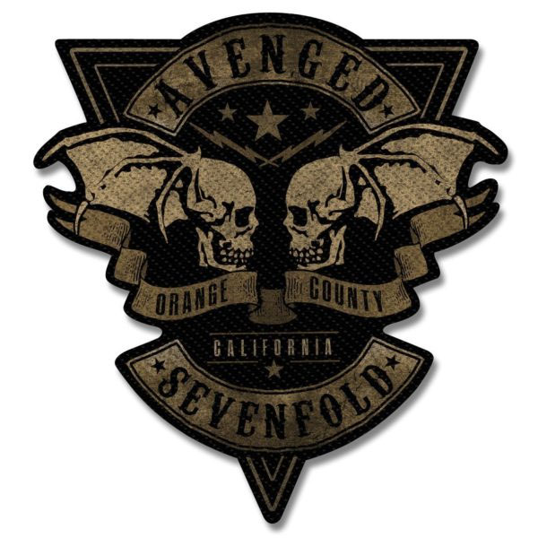 Avenged Sevenfold- Orange County Deathbats Woven Patch (ep781)