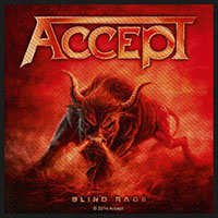 Accept- Blind Rage Woven Patch (ep267) (Import)