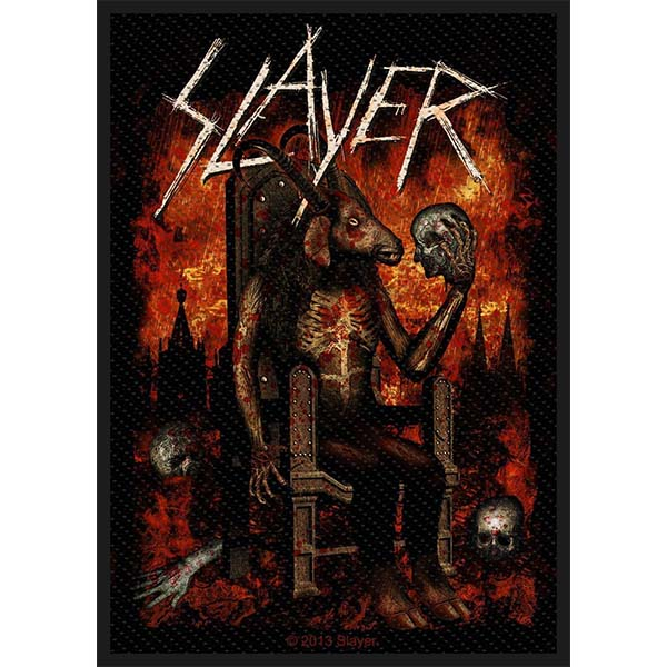 Slayer- Devil woven patch (ep444)