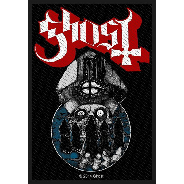 Ghost- Warriors Woven patch (ep832) (Import)