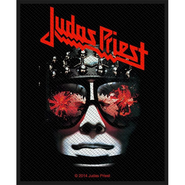 Judas Priest- Hell Bent For Leather Woven Patch (ep811)