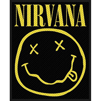 Nirvana- Smiley Face Woven Patch (ep882) (Import)