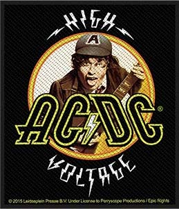 AC/DC- High Voltage Woven patch (ep782)