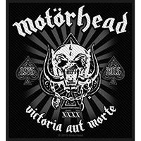 Motorhead- Victoria Aut Morte Woven Patch (ep909)