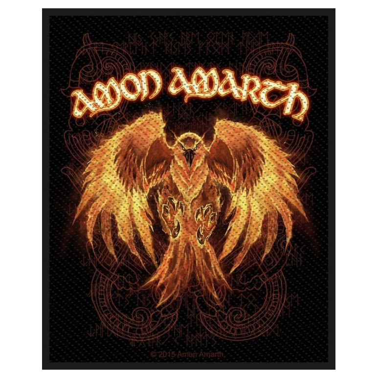 Amon Amarth- Phoenix Woven Patch (ep806) (Import)