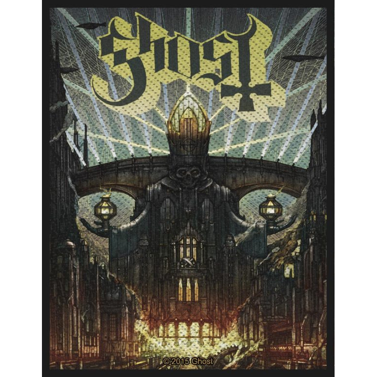 Ghost- Meliora Woven patch (ep805)