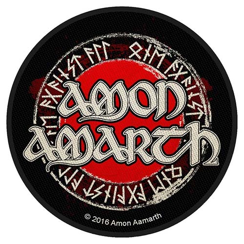 Amon Amarth- Logo Woven Patch (ep38)