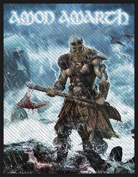 Amon Amarth- Jomsviking Woven Patch (ep760) (Import)