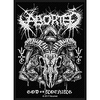 Aborted- God Of Nothing Woven Patch (ep110) (Import)