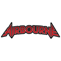 Airbourne- Die Cut Logo Woven Patch (ep512)