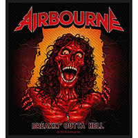 Airbourne- Breakin' Outta Hell Woven Patch (ep479)