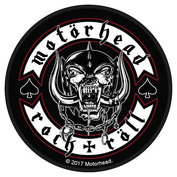 Motorhead- Rock & Roll Woven Patch (ep498)