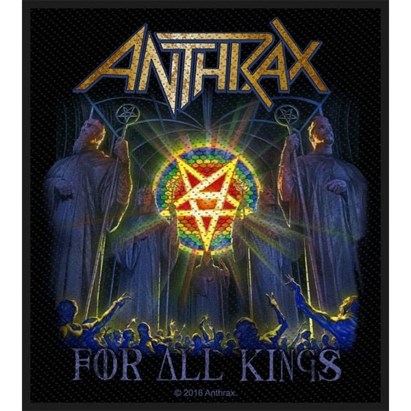 Anthrax- For All Kings Woven Patch (ep834)