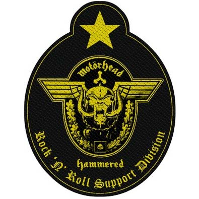 Motorhead- Hammered Woven Patch (ep762) (Import)
