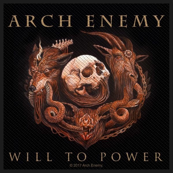 Arch Enemy- Will To Power Woven patch (ep833)