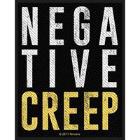 Nirvana- Negative Creep Woven Patch (ep890)