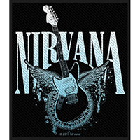 Nirvana- Guitar Woven Patch (ep71) (Import)
