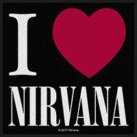 Nirvana- I Love Nirvana Woven Patch (ep73)