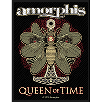 Amorphis- Queen Of Time Woven Patch (ep604)