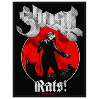 Ghost- Rats! Woven patch (ep75)