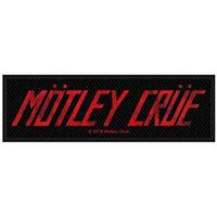 Motley Crue- Logo Woven Patch (ep344)